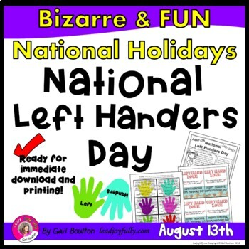 National Left Handers Day (August 13th)