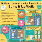 National Literacy Learning Progressions Bump it Up Walls BUNDLE