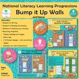National Literacy Learning Progressions Bump it Up Walls BUNDLE