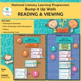 National Literacy Learning Progressions READING & VIEWING Bump it Up Walls