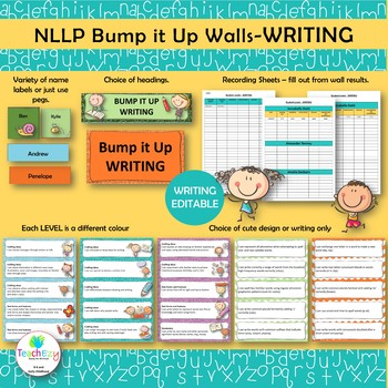 National Literacy Learning Progressions WRITING Bump It Up Wall
