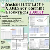 National Literacy and Numeracy Learning Progressions BUNDL