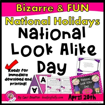 National Look Alike Day (April 20th)
