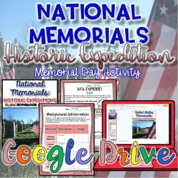 National Memorials-Memorial Day Activity {Digital}
