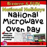 National Microwave Oven Day (December 6th)