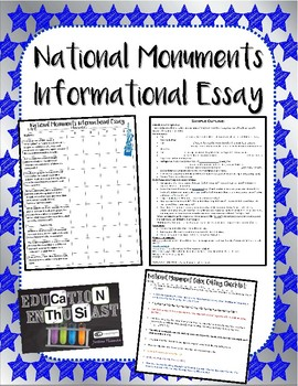 National Monument Informational Essay Guide