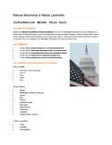 National Monuments & Historic Landmarks