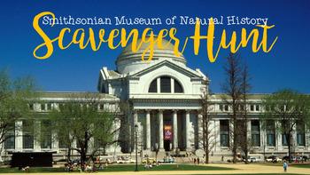 National Museum of Natural History Scavenger Hunt