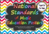 National Music Education Standards - Rainbow Chevron Chalk