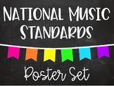 National Music Standards - Chalkboard Brights