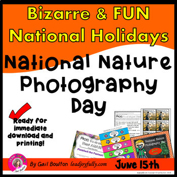 National Nature Photography Day (June 15th)