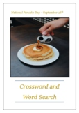 National Pancake Day - September 26th Crossword Puzzle Word Search Bell Ringer