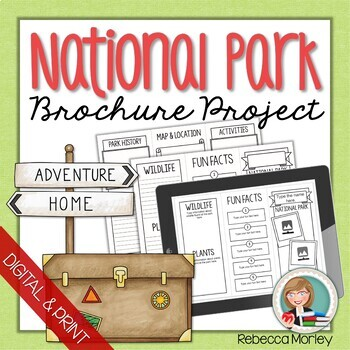 National parks teaching resources teachers pay teachers national park brochure research templates national park brochure research templates publicscrutiny Image collections