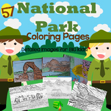 National Park Coloring Pages