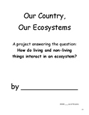 National Park Ecosystem Project - Ecology, Landforms, Food Chain, Research