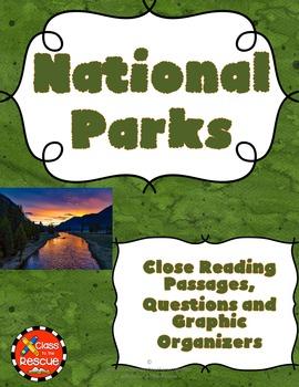 National Park Non Fiction No Prep Close Reading