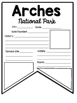 National Park Pennants Complete Collection