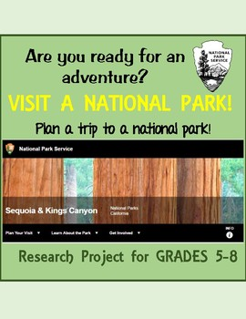 National Park Plan An Adventure Research Project