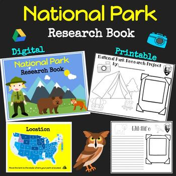 National parks research teaching resources teachers pay teachers national park research book travel guide end of school publicscrutiny Image collections
