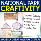 National Park Research Craftivity