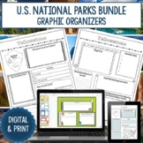 National Park Research Graphic Organizers