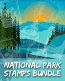 National Park Stamp Bundle