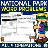Word Problems Bundle (National Parks)