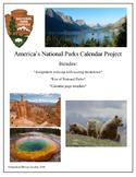 National Parks Calendar Assignment