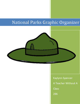 National Parks Graphic Organizer
