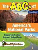Cursive Printables:  National Parks