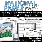 National Parks Research Project Activities Prompt
