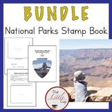 National Parks Stamp Book {Bundle} - U.S. History & Geography Summer Activity