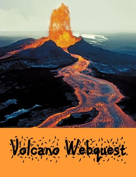 National Parks Webquest Bundle-Explore Erosion, Volcanoes, Geysers, and Wildlife
