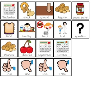 National Peanut Day Adapted Books ( Level 1 and Level 2 )