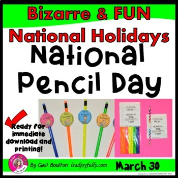 National Pencil Day (March 30th)