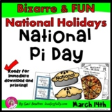 National Pi Day (March 14th)