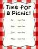 National Picnic Month (July)
