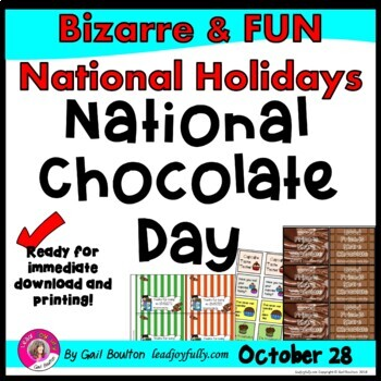 National Chocolate Day (October 28th)