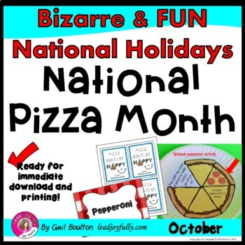 National Pizza Month (October)