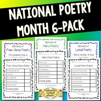 National Poetry Month 6-Pack