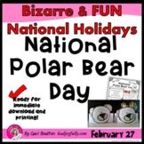 National Polar Bear Day (February 27th)