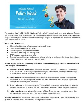 National Police Week Activity
