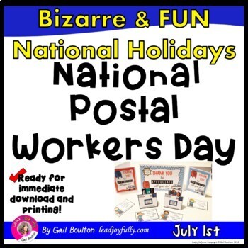 National Postal Workers Day (July 1st)