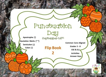 National Punctuation Day Flip Book 2