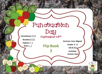 National Punctuation Day Flip Book 3