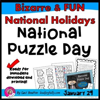 National Puzzle Day (January 29th)