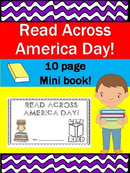 National Read Across America Day 10 Page Mini Book! March 2nd