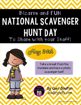 National Scavenger Hunt Day (May 24th)