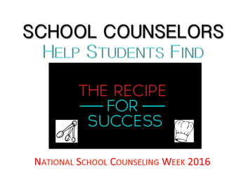 National School Counseling Week 2016 Posters