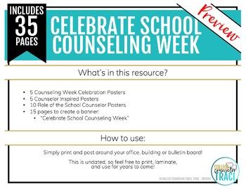 Celebrate School Counselors Week Bulletin Board